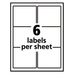 AVE55164 - Avery® Repositionable Shipping Labels