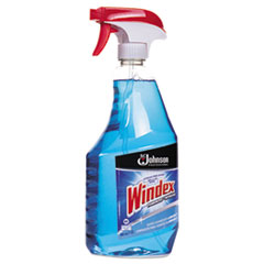 SJN695237 - Windex® Formula Glass Cleaner with Ammonia-D, 32oz Trigger Bottle, 12/Carton