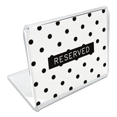 UNV76861 - Universal® Mini Table-Top Sign