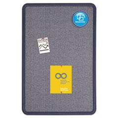 QRT7693BE - Quartet® Contour® Fabric Bulletin Board