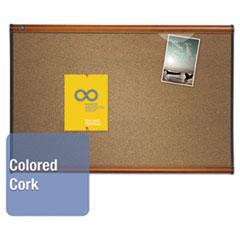 QRTB243LC - Quartet® Prestige™ Colored Cork Bulletin Board