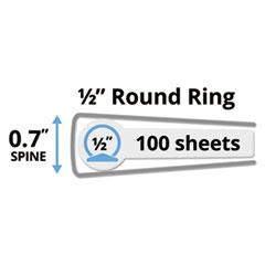 AVE19551 - Avery® Showcase Vinyl Round Ring View Binder