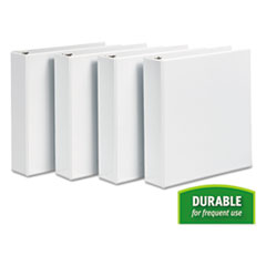 AVE17577 - Avery® Durable View Binder with DuraHinge™ and Slant Rings
