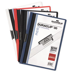 DBL220328 - Durable® DuraClip® Report Cover