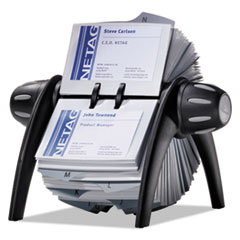 DBL241701 - Durable® VISIFIX® Flip Rotary Business Card File