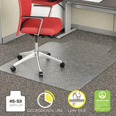 ALEMAT4553CFPL - Alera® Studded Chair Mat for Flat Pile Carpet
