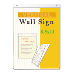 UNV76882 - Universal® Wall Mount Sign Holder