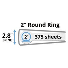 AVE19700 - Avery® Showcase Vinyl Round Ring View Binder