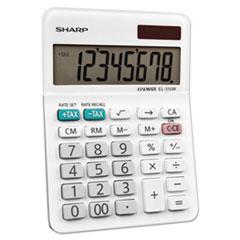 SHREL310WB - Sharp® EL-310WB Mini Desktop Calculator