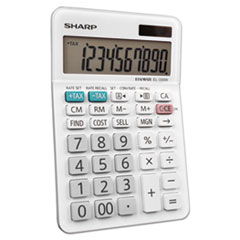 SHREL330WB - Sharp® EL-330WB Desktop Calculator