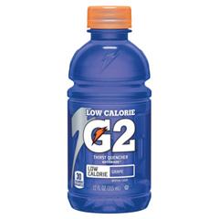 PFY308-12203 - Gatorade - G2 Low Calorie Thirst Quencher, Grape, 12 oz, Bottle