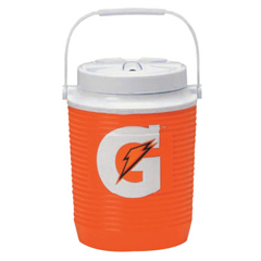 PFY308-49015-13 - Gatorade - Water Coolers, 1 Gal, Orange
