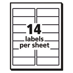 AVE5522 - Avery® WeatherProof™ Durable Labels