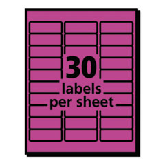 AVE5970 - Avery® High-Visibility Labels