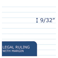 ROA74713 - Roaring Spring® Recycled Legal Pad