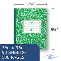 ROA77920 - Roaring Spring® Grade School Ruled Composition Book