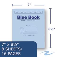 ROA77512 - Roaring Spring® Examination Blue Book