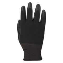 BWK000288 - Boardwalk® Black PU Palm Coated Gloves