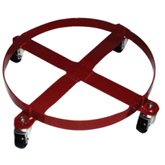 ORS310-40146 - Milwaukee Hand TrucksWelded Drum Dolly, 4-Wheel, 800 Lb, 6 1/4 In H X 30 1/2 In W