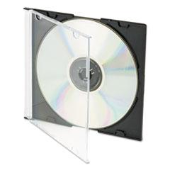 IVR85800 - Innovera® CD/DVD Polystyrene Thin Line Storage Case