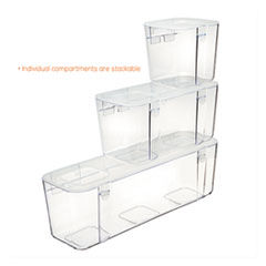 DEF29201CR - deflecto® Caddy Organizer