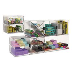 DEF350201 - deflect-o® Stackable Cube Desktop Organizer