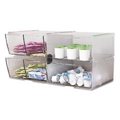 DEF350101 - deflect-o® Stackable Cube Desktop Organizer