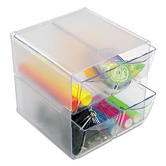 DEF350301 - deflect-o® Stackable Cube Desktop Organizer