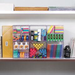 DEF350401 - deflect-o® Stackable Cube Desktop Organizer