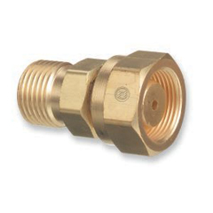 WSE312-319 - Western EnterprisesBrass Cylinder Adaptors