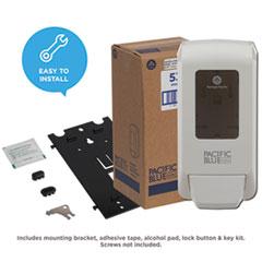 GPC53058 - Georgia Pacific® Professional Pacific Blue Ultra™ White Soap/Sanitizer Dispenser
