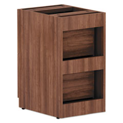ALEVA542822WA - Valencia Series File/File Full Pedestal File,15.63x20.5x28.5, Mod Walnut