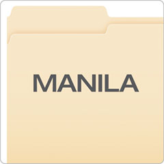 PFX75313 - Pendaflex® Essentials™ Manila File Folders