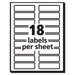 AVE5026 - Avery® Extra Large File Folder Labels with TrueBlock™ Technology