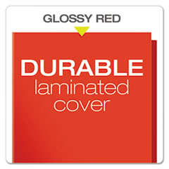 OXF51711 - Oxford® Laminated Two-Pocket Portfolio