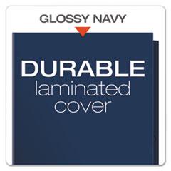 OXF51743 - Oxford® Laminated Two-Pocket Portfolio