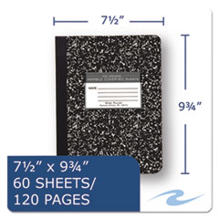 ROA77222 - Roaring Spring® Marble Cover Composition Book