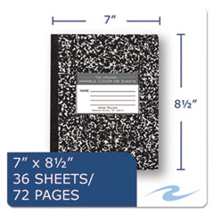 ROA77332 - Roaring Spring® Marble Cover Composition Book