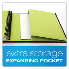 TOP56895 - Oxford® Idea Collective® Professional Series Wirebound Hardcover Notebook