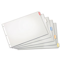 CRD84814 - Cardinal® Paper Insertable Dividers