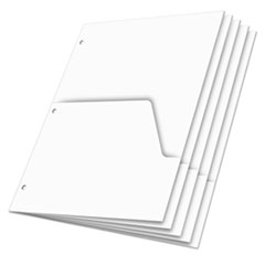 CRD60155 - Cardinal® Double Pocket Dividers for Ring Binders