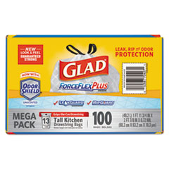 CLO70427 - Clorox Professional Glad® ForceFlex Tall Kitchen Drawstring Bags