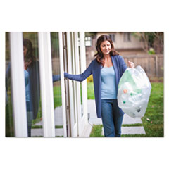 CLO78543CT - Glad® Clear Recycling Tall Kitchen Trash Bags