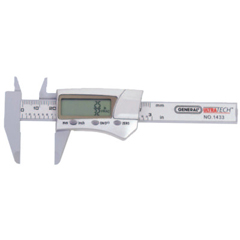 GNT318-1433 - General ToolsDigital/Fraction Electronic Calipers, 1 In-3 In/150 mm