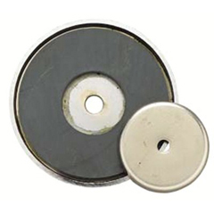 GNT318-376A - General ToolsShallow Pot Ceramic Magnets