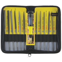 GNT318-707475 - General Tools - 12 Piece Swiss Pattern Neddle File Sets
