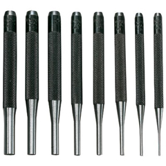 GNT318-SPC75 - General Tools8 Piece Drive Pin Punch Sets