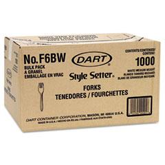 DCCF6BW - Style Setter® Mediumweight Plastic Cutlery