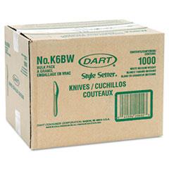 DCCK6BW - Style Setter® Mediumweight Plastic Cutlery