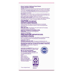 CLO31817 - Scentiva Disinfecting Foam Multi Surface Cleaner, 20 oz Can, Lavender, 6/CT
